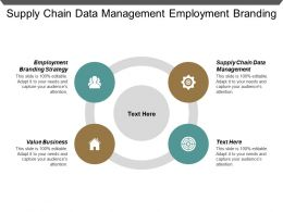 Supply Chain Data Management Employment Branding Strategy Value Business Cpb