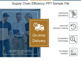 Supply Chain Efficiency Ppt Sample File