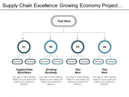 Supply Chain Excellence Growing Economy Project Management Approach Cpb