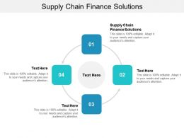 Supply Chain Finance Solutions Ppt Powerpoint Presentation Infographic Template Vector Cpb