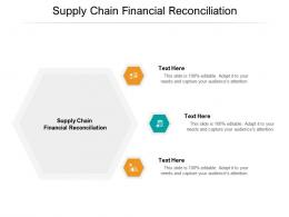 Supply Chain Financial Reconciliation Ppt Powerpoint Presentation Infographic Template Cpb