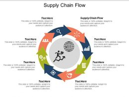 Supply Chain Flow Ppt Powerpoint Presentation Ideas Infographic Template Cpb