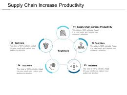 Supply Chain Increase Productivity Ppt Powerpoint Presentation Gallery Cpb