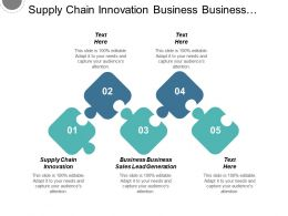 Supply Chain Innovation Business Business Sales Lead Generation Cpb