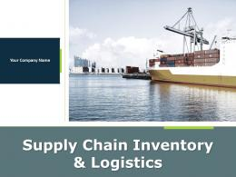 Supply Chain Inventory And Logistics Powerpoint Presentation Slides