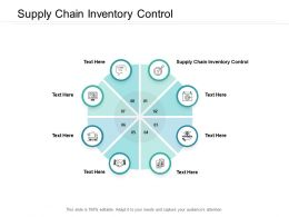 Supply Chain Inventory Control Ppt Powerpoint Presentation Slides Picture Cpb