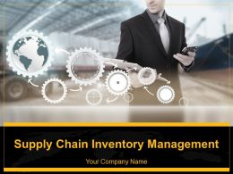 Supply Chain Inventory Management Powerpoint Presentation Slides