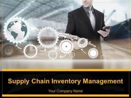 Supply Chain Inventory Management Powerpoint Presentation Slides