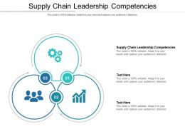 Supply Chain Leadership Competencies Ppt Powerpoint Presentation Layouts Format Cpb