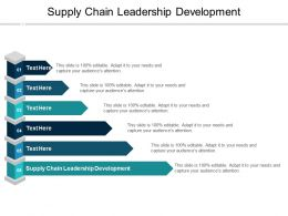 Supply Chain Leadership Development Ppt Powerpoint Presentation Styles Designs Download Cpb