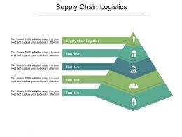 Supply Chain Logistics Ppt Powerpoint Presentation Styles Microsoft Cpb