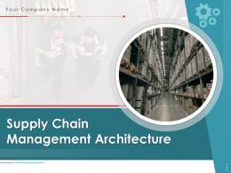 Supply Chain Management Architecture Powerpoint Presentation Slides