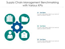 Supply Chain Management Benchmarking With Various KPIs