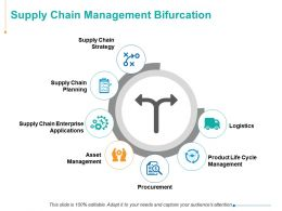 Supply Chain Management Bifurcation Strategy Planning Ppt Powerpoint Presentation Example
