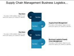 Supply Chain Management Business Logistics Supply Chain Management Cpb