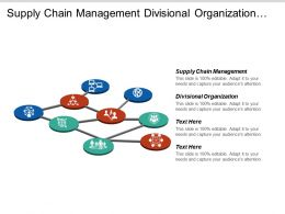 Supply Chain Management Divisional Organization Human Resources Development Cpb