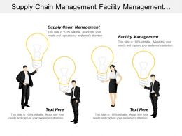 Supply Chain Management Facility Management Asset Management Companies