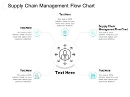 Supply Chain Management Flow Chart Ppt Powerpoint Presentation Infographics Display Cpb