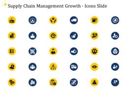 Supply Chain Management Growth Icon Slide Ppt Powerpoint Infographics Styles