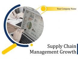 Supply Chain Management Growth Powerpoint Presentation Slides
