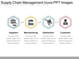 Supply Chain Management Icons Ppt Images