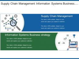 Supply Chain Management Information Systems Business Strategy Data Analysis