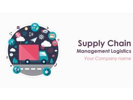 Supply Chain Management Logistics Powerpoint Presentation Slides