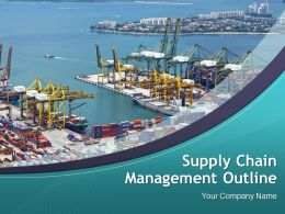 Supply Chain Management Outline Powerpoint Presentation Slides
