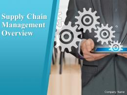 Supply Chain Management Overview Powerpoint Presentation Slides