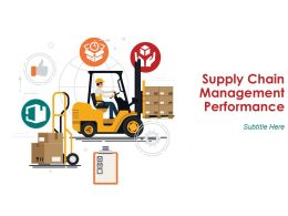 Supply Chain Management Performance Powerpoint Presentation Slides