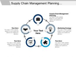 Supply Chain Management Planning Marketing Strategy Economic Development Cpb