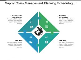 Supply Chain Management Planning Scheduling Business Appraisal Brand Management Cpb