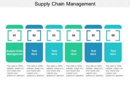 Supply Chain Management Ppt Powerpoint Presentation Summary Graphics Design Cpb