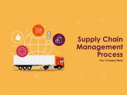 Supply Chain Management Process Powerpoint Presentation Slides