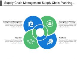 Supply Chain Management Supply Chain Planning Supply Chain Strategy