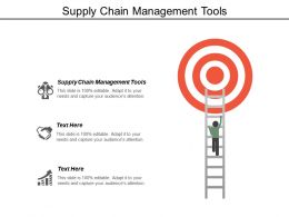 Supply Chain Management Tools Ppt Powerpoint Presentation Infographic Template Aids Cpb