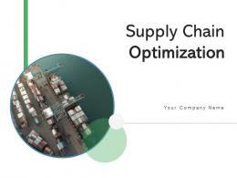 Supply Chain Optimization Dashboard Management Manufacturing Planning Relationship
