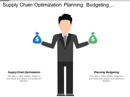 Supply Chain Optimization Planning Budgeting Establish Agendas Set Timetables