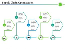 Supply Chain Optimization Ppt Example Professional