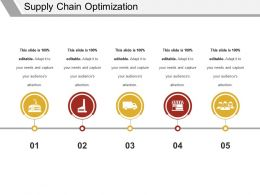 Supply Chain Optimization Ppt Examples Slides