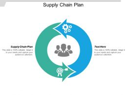 Supply Chain Plan Ppt Powerpoint Presentation Gallery Pictures Cpb