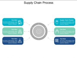Supply Chain Process Ppt Powerpoint Presentation Model Rules Cpb