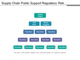 Supply Chain Public Support Regulatory Risk Workforce Efficiency