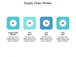 Supply Chain Review Ppt Powerpoint Presentation Professional Gallery Cpb