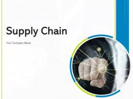 Supply Chain Stock Management Channel Performance Pricing Optimization