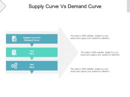 Supply Curve Vs Demand Curve Ppt Powerpoint Presentation Icon Slides Cpb
