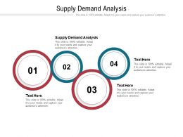 Supply Demand Analysis Ppt Powerpoint Presentation Portfolio Outfit Cpb