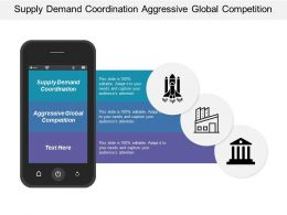 Supply Demand Coordination Aggressive Global Competition Industry Consolidation Alliances
