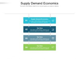 Supply Demand Economics Ppt Powerpoint Presentation Gallery Professional Cpb