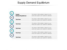 Supply Demand Equilibrium Ppt Powerpoint Presentation Inspiration Slide Portrait Cpb